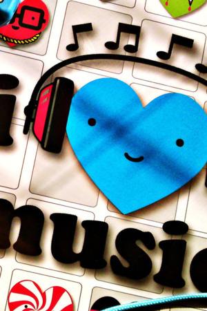 I Love Music IPhone Wallpaper Mobile Wallpaper
