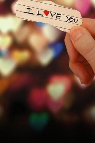 I Love You IPhone Wallpaper Mobile Wallpaper