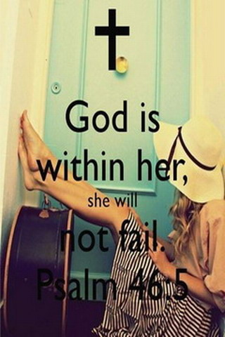God Is Within Her IPhone Wallpaper Mobile Wallpaper