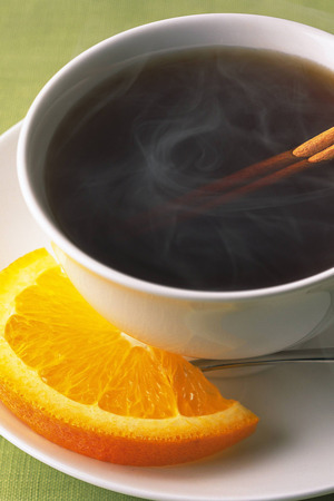 Orange Hot Tea IPhone Wallpaper Mobile Wallpaper