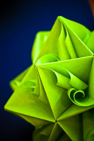 Origami Green IPhone Wallpaper Mobile Wallpaper