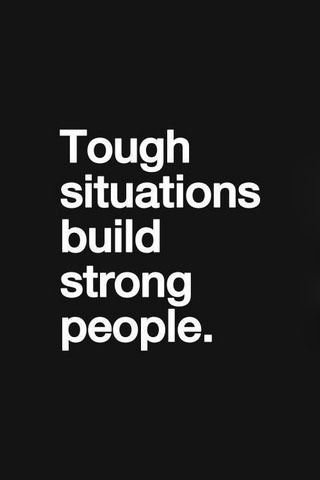 Tough Situations IPhone Wallpaper Mobile Wallpaper