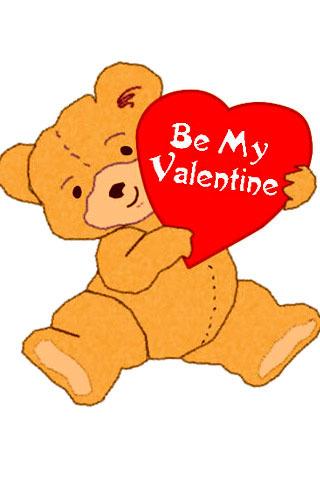 Bear My Valentine IPhone Wallpaper Mobile Wallpaper