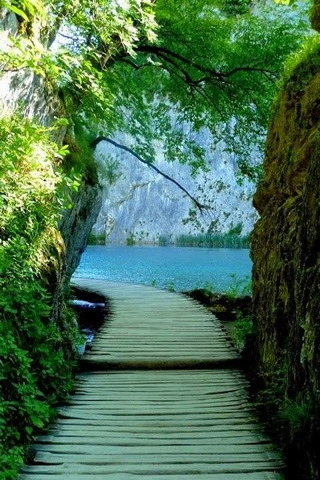 Awsome Plitvice Lakes Croatia IPhone Wallpaper Mobile Wallpaper