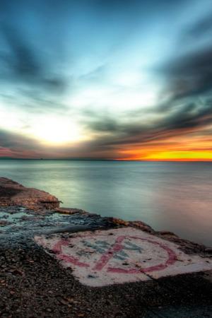 Island Sunset IPhone Wallpaper Mobile Wallpaper