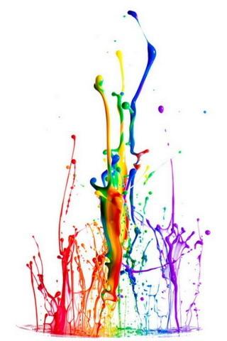 Colors Splash Drops IPhone Wallpaper Mobile Wallpaper
