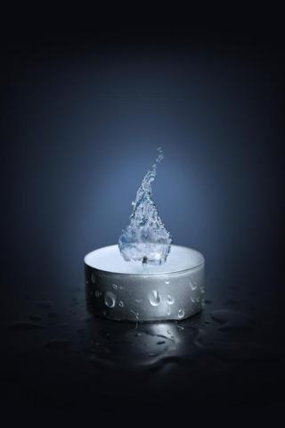 Water Candle IPhone Wallpaper Mobile Wallpaper
