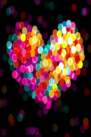 Bokeh Valentine's Love IPhone Wallpaper Mobile Wallpaper