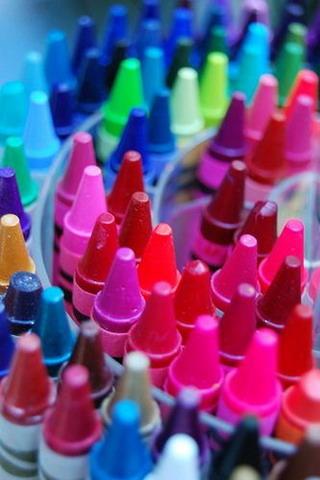 Colors Top View IPhone Wallpaper Mobile Wallpaper
