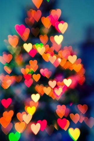 Hearts Color Love IPhone Wallpaper Mobile Wallpaper