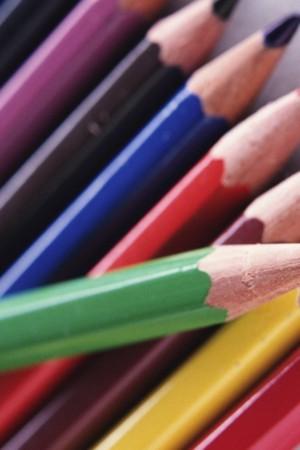 Cool Colors Pencils IPhoneWallpaper Mobile Wallpaper