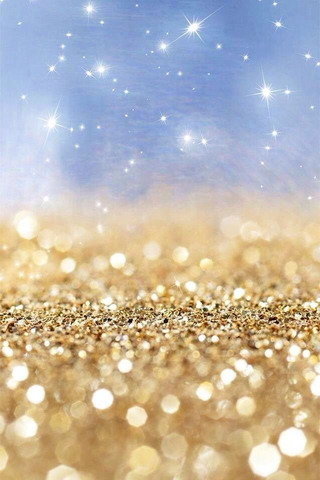 Shines Sparkle Golden IPhone Wallpaper Mobile Wallpaper