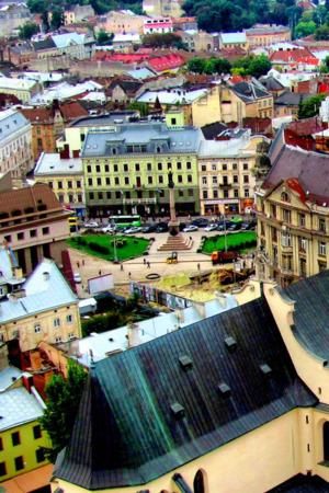 View Colors Building Ukraine IPhone Wallpaper Mobile Wallpaper