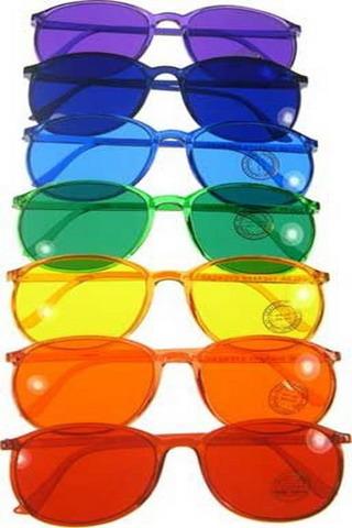 Rainbow Glasses Wear IPhone Wallpaper Mobile Wallpaper