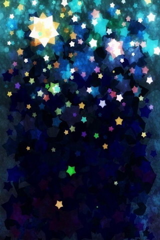 Shine Colors Stars IPhone Wallpaper Mobile Wallpaper