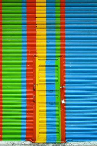 Nice Colors In Shop Shutter IPhone Wallpaper Mobile Wallpaper