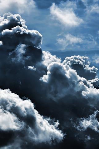Dark Clouds IPhone Wallpaper Mobile Wallpaper