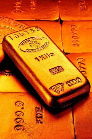 Gold Bars Iphone Wallpaper Mobile Wallpaper