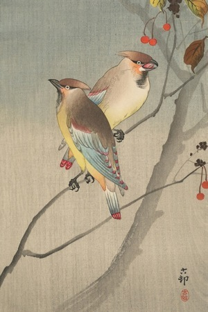 Art Ohara Koson Birds IPhone Wallpaper Mobile Wallpaper