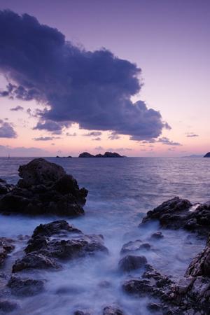 Purple Sunset &Sky IPhone Wallpaper Mobile Wallpaper