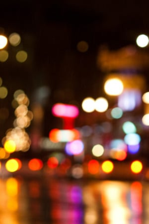 City Bokeh Broadway IPhone Wallpaper Mobile Wallpaper
