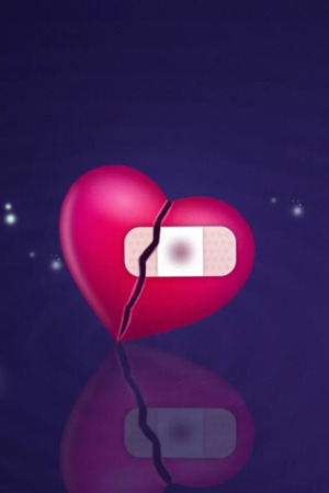 Download Broken Hearts IPhone Wallpaper Mobile Wallpaper ...