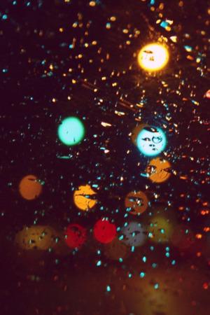Rain Colors Drops IPhone Wallpaper Mobile Wallpaper