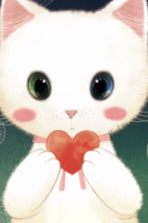 Cute Kitty Love Iphone Wallpaper Mobile Wallpaper