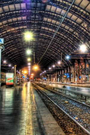 Inside Train Station IPhone Wallpaper Mobile Wallpaper