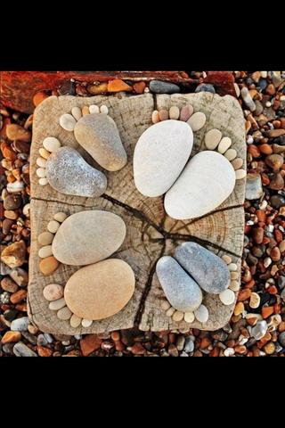 Sea Stone Feets IPhone Wallpaper Mobile Wallpaper