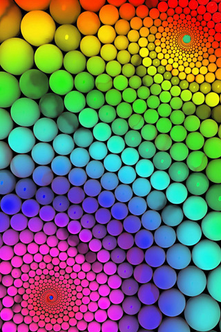 Abstract Colorful Whirl IPhone Wallpaper Mobile Wallpaper