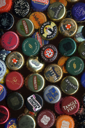 Beer Caps IPhone Wallpaper Mobile Wallpaper