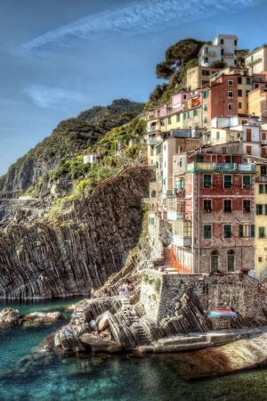 Riomaggiore Italy House IPhone Wallpaper Mobile Wallpaper