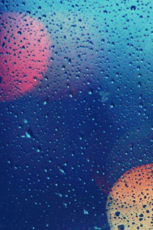 Wet Glass IPhone Wallpaper Mobile Wallpaper