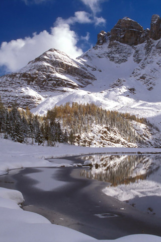 Mount Assiniboine Canada IPhone Wallpaper Mobile Wallpaper