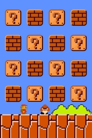 Super Mario Bros IPhone Wallpaper Mobile Wallpaper