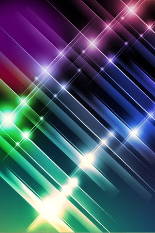 Colors Shine Stars IPhone Wallpaper Mobile Wallpaper