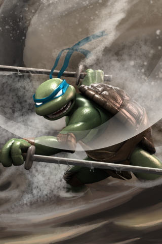 Ninja Turtles Fighter Iphone Wallpaper Mobile Wallpaper