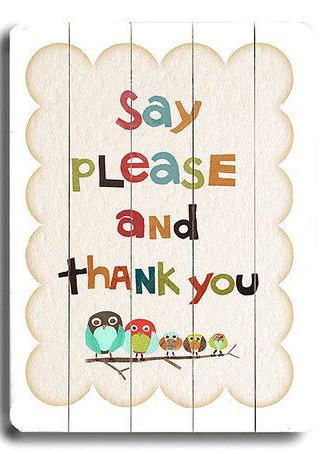 Say Please Thank You IPhone Wallpaper Mobile Wallpaper
