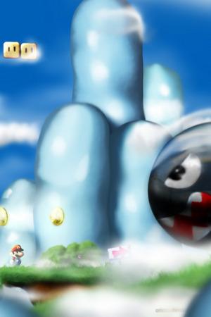 Super Mario Game IPhone Wallpaper Mobile Wallpaper