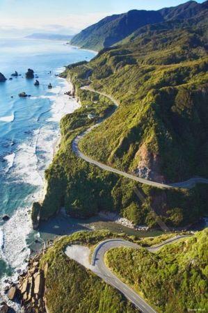 California Coast Nature IPhone Wallpaper Mobile Wallpaper