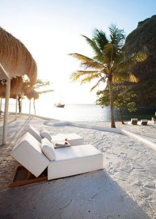 Sugar Beach St Lucia IPhone Wallpaper Mobile Wallpaper