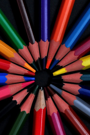 Crayons Colors Pencils IPhone Wallpaper Mobile Wallpaper