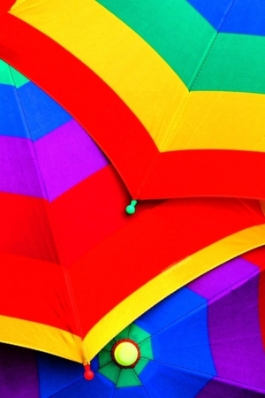 Cute Colorful Umbrellas IPhone Wallpaper Mobile Wallpaper