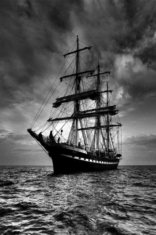 Pirate Ship IPhone Wallpaper Mobile Wallpaper