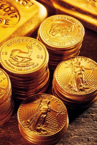 Gold Coins IPhone Wallpaper Mobile Wallpaper