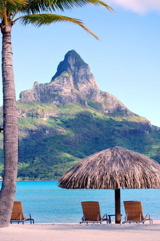 Bora Bora Tahiti French Polynesia IPhone Wallpaper Mobile Wallpaper