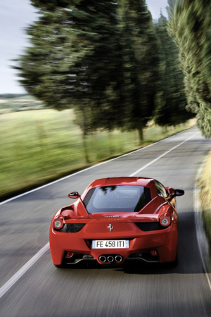 Red Car Speed IPhone Wallpaper Mobile Wallpaper