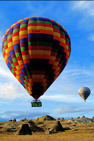 Beautiful Air Colors Balloons IPhone Wallpaper Mobile Wallpaper