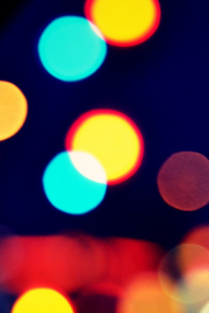 Bokeh Colors 3D Blurred Vision IPhone Wallpaper Mobile Wallpaper